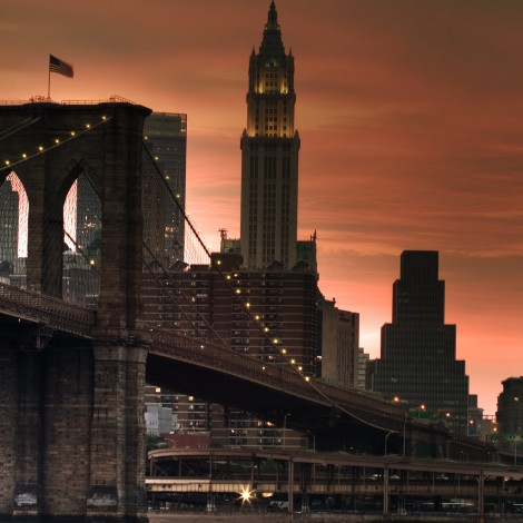 BrooklynBridgeSunsetHDRSML